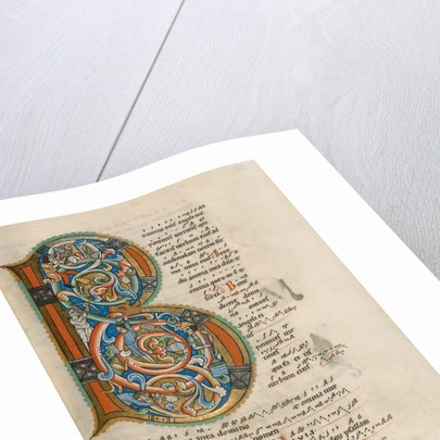 Inhabited Initial B by Anonymous