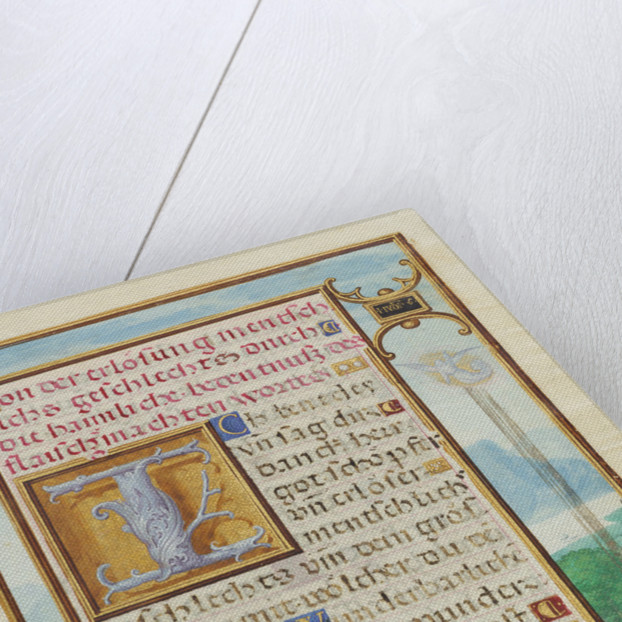 Border with a Scene from the Life of Gideon by Simon Bening