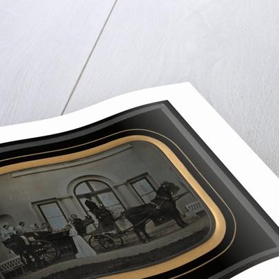 Carriage with Figures by Jean-Gabriel Eynard