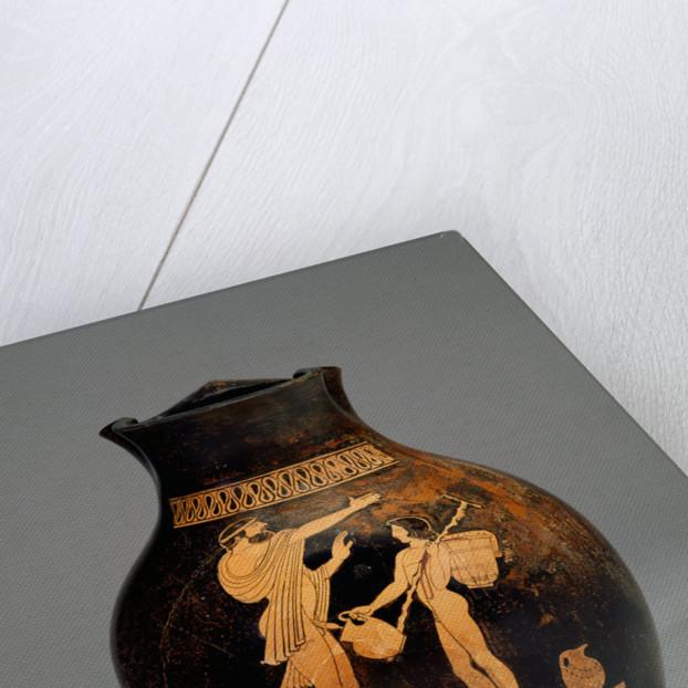 Attic Red-Figure Oinochoe, Shape 3 (Chous) by Oionokles Painter