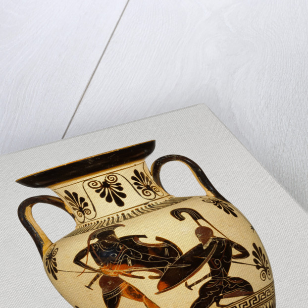 Attic Black-Figure Neck Amphora by Anonymous