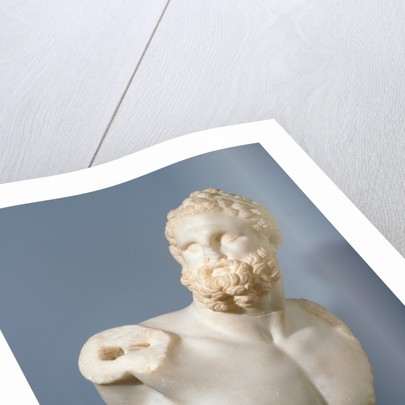 Bust of a Pugilist and detached fragments (2) by Anonymous