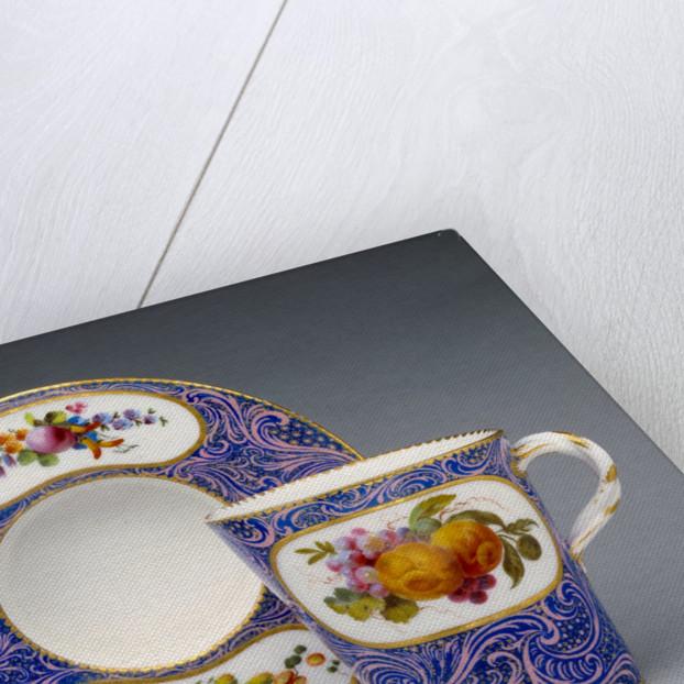 Cup and Saucer (gobelet et soucoupe enfoncé, première grandeur) by Sèvres Manufactory