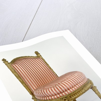 Side Chair (one of a set of four) by Jacques Gondoin