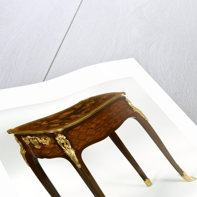 Mechanical Reading, Writing, and Toilette Table by Jean-François Oeben