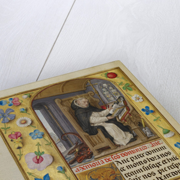 Saint Dominic by Master of James IV of Scotland