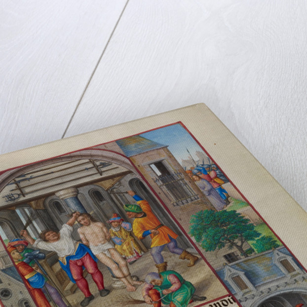 The Flagellation by Master of James IV of Scotland
