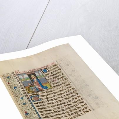 Saint Catherine by Workshop of Willem Vrelant