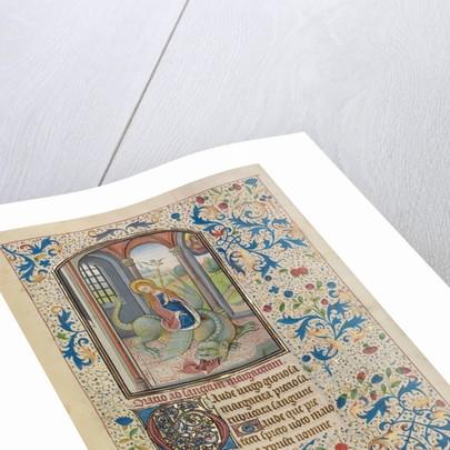 Saint Margaret by Willem Vrelant