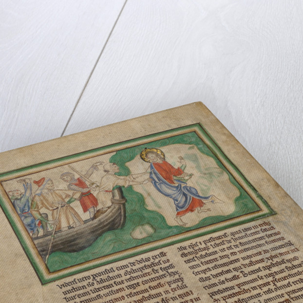 The Arrival of Saint John on Patmos by Anonymous