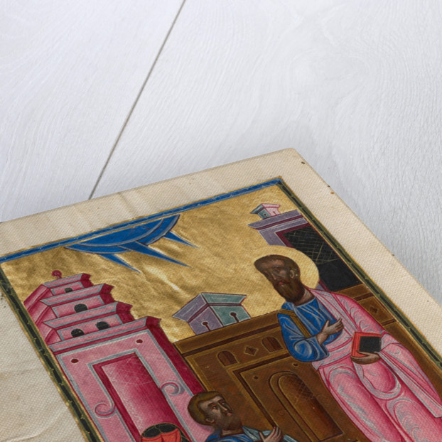 Saint Paul and Sergius, Roman Proconsul in Cyprus by Malnazar
