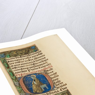 Initial G: Mary Magdalene by Master of the Dresden Prayer Book