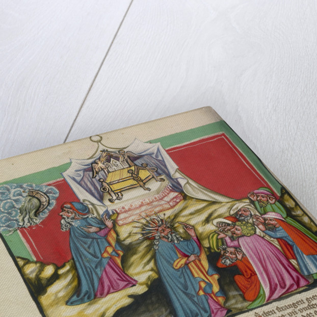 Moses and the Ark of the Covenant by Anonymous