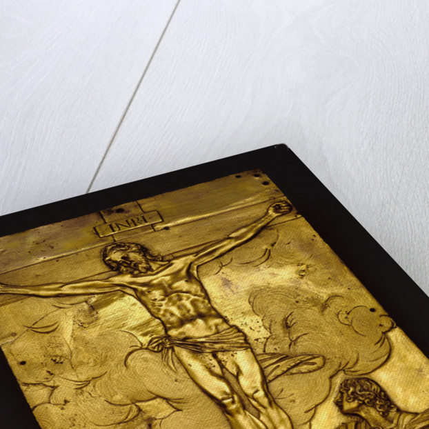 Tabernacle Door with the Crucifixion by Francesco Mochi