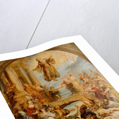The Miracles of Saint Francis of Paola by Peter Paul Rubens