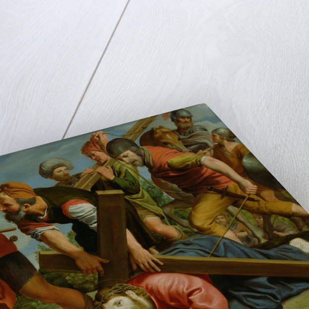 The Way to Calvary by Domenichino