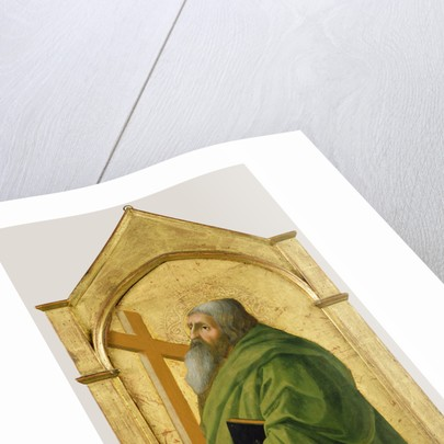 Saint Andrew by Masaccio
