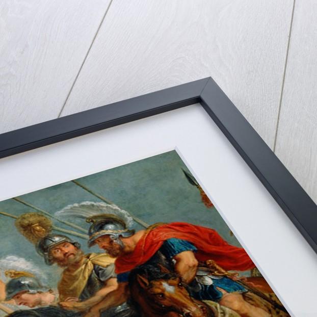David Meeting Abigail by Workshop of Peter Paul Rubens
