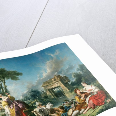 The Fountain of Love by François Boucher