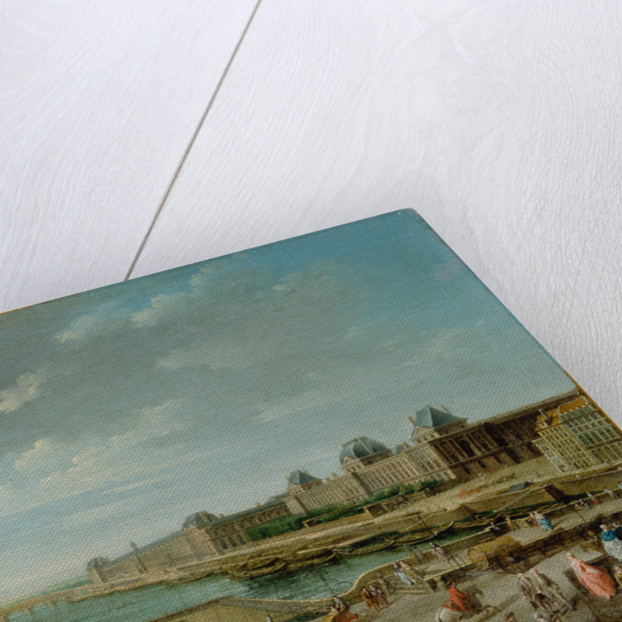 A View of Paris from the Pont Neuf by Jean-Baptiste Raguenet