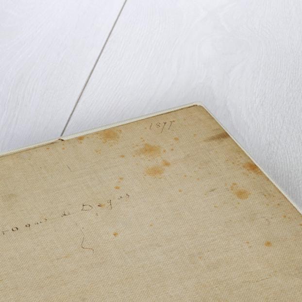An Album of Pencil Sketches by Edgar Degas