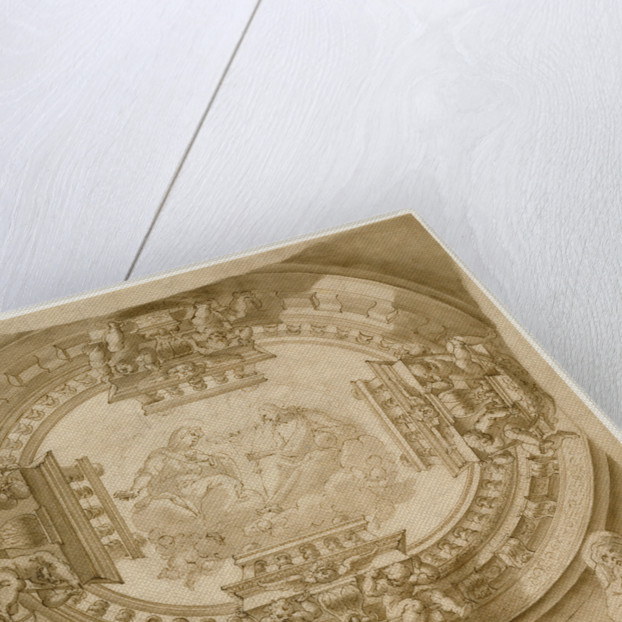Study for a Ceiling with the Virgin and Christ in Glory by Francisco Rizi