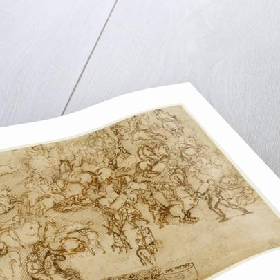 Battle Scene by Girolamo Genga