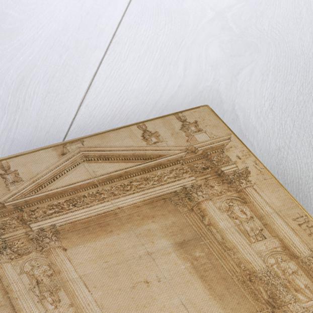 Design for an Altar by Baldassare Peruzzi