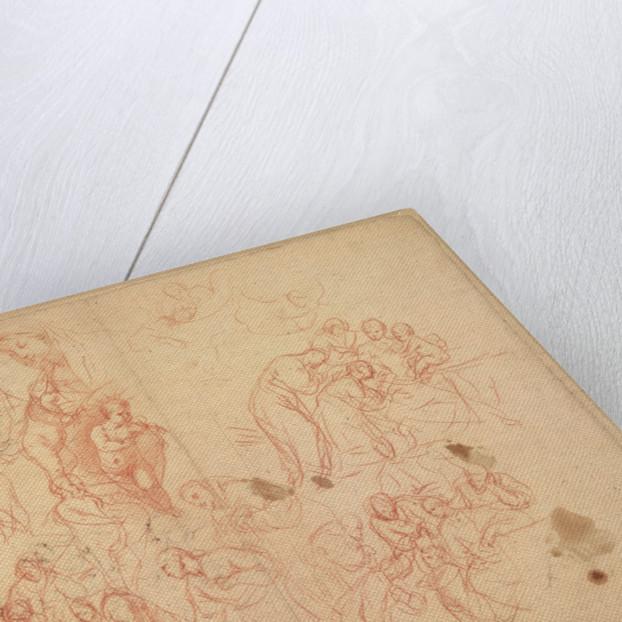 Figure Studies (recto), Figure Studies (verso) by Karel Skréta