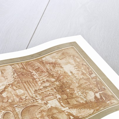 An Ancient Port by Giovanni Battista Piranesi