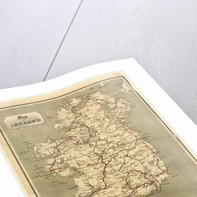 Ireland in 1834, map by Anonymous