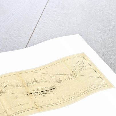 Choptank and transquaking canal, Report on the new map of Maryland, 1836 by Anonymous