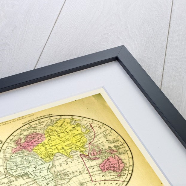 Map of the world by Anonymous