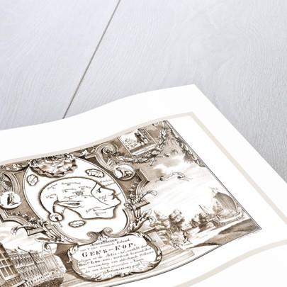Dutch History Island Geks Kop by Anonymous