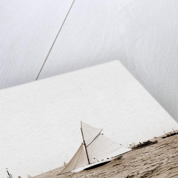 Gloriana, Goelet Cup Race, Gloriana (Yacht) by Anonymous