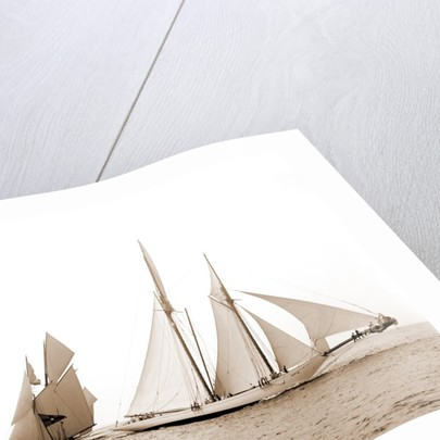 Alcaea and Lasca, Alcaea (Schooner), 1892 by Anonymous