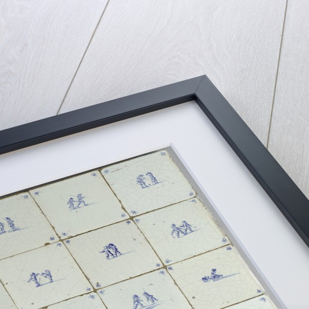Tiles with Scenes of Children Playing by Anonymous