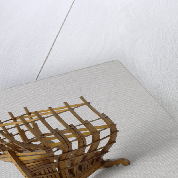 Model of a poop in his rafters of formation by Anonymous