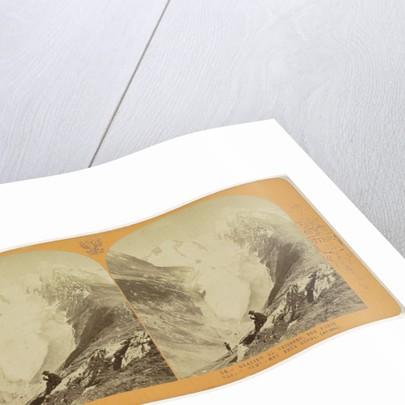 The glacier Geisberg, vue prize depuis Hohe-Mut, pres Gurgl (Oetzthal), Tyrol, Austria by Anonymous