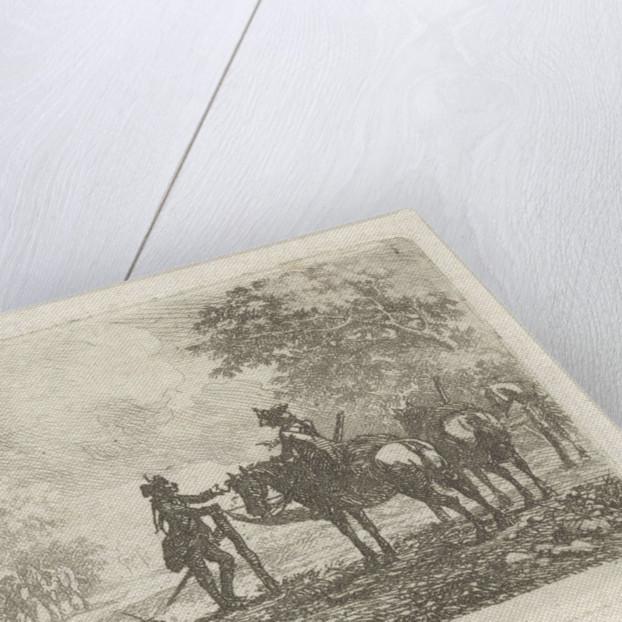 Soldiers in the forest by Dirk Langendijk