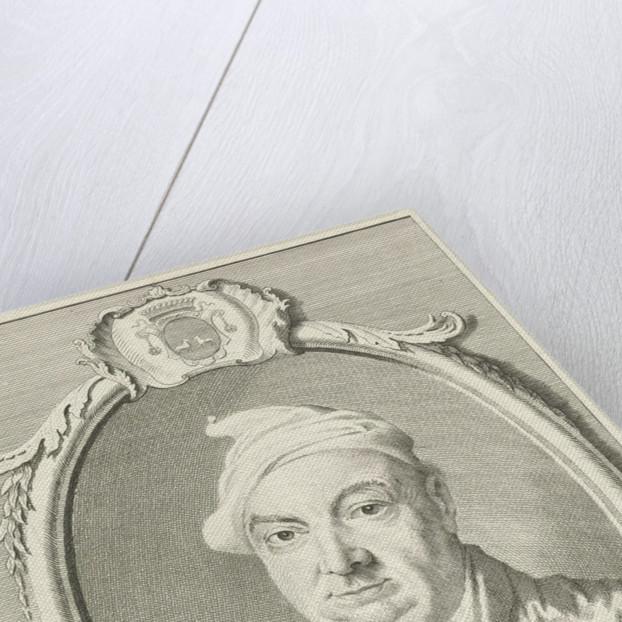 Portrait of P. Born by Cornelis van Noorde