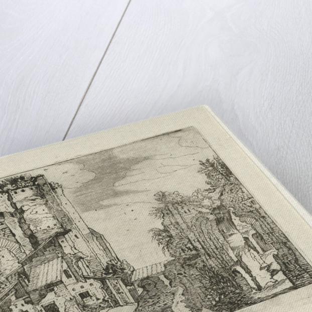 Two ruins, Willem van Nieulandt (II) by Anonymous
