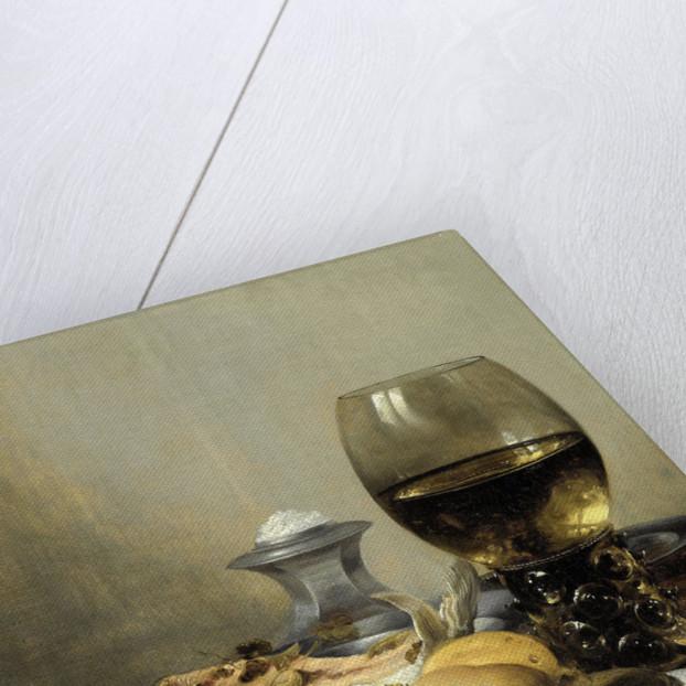 Still Life with Saltcellar by Pieter Claesz.