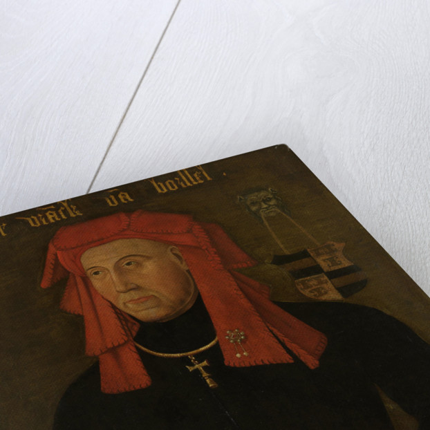 Portrait of Frank van Borselen by Anonymous