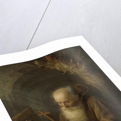 A Hermit by Gerard Dou