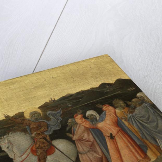 The Crucifixion by Giovanni di Paolo di Grazia