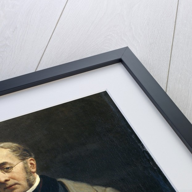 Portrait of Jacob de Vos Jacobszoon by Nicolaas Pieneman