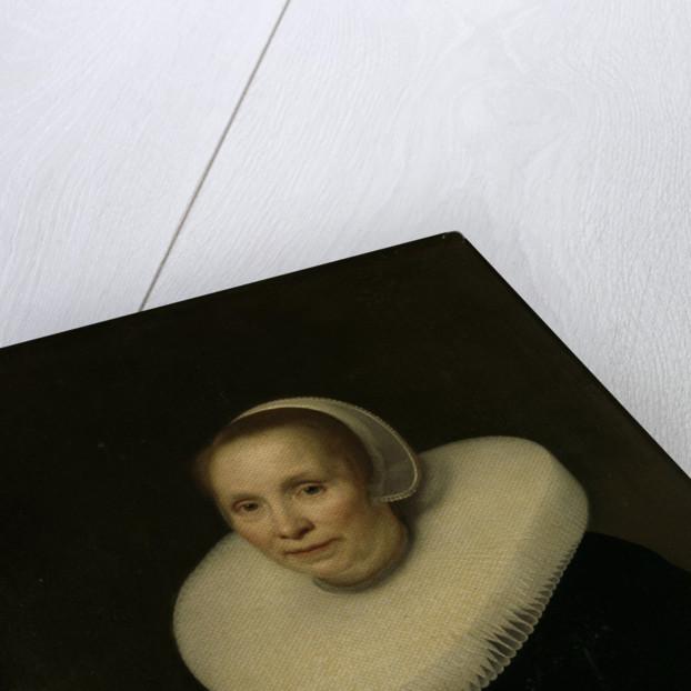 Portrait of a woman by Abraham van den Tempel