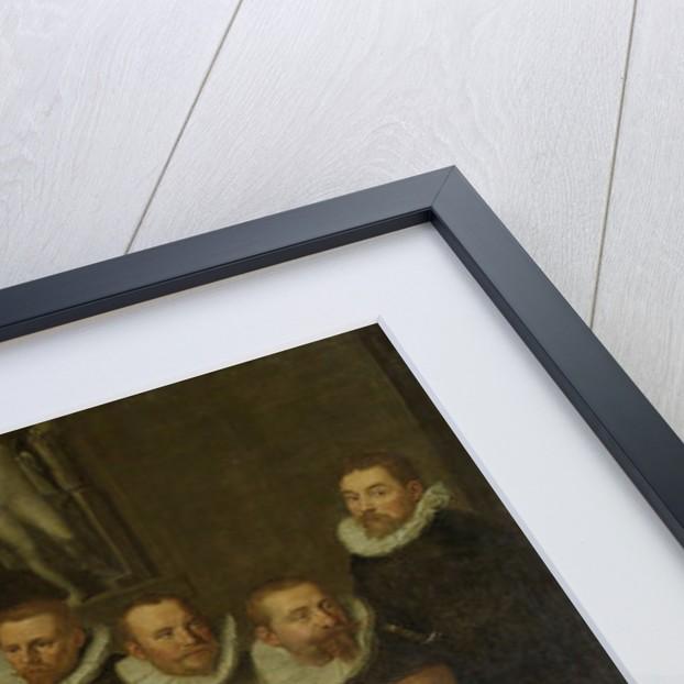 The Company of Captain Gillis Jansz Valckenier and Lieutenant Pieter Jacobsz Bas, Amsterdam, 1599, The Netherlands by Pieter Isaacsz.