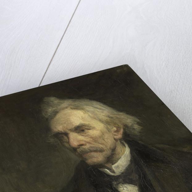 Louis Jacques Veltman, 1817-1907, actor by Jozef Israëls